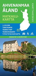 Ahvenanmaa 1:150 000, matkailukartta 2014