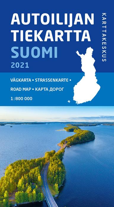 Autoilijan Tiekartta Suomi 2021