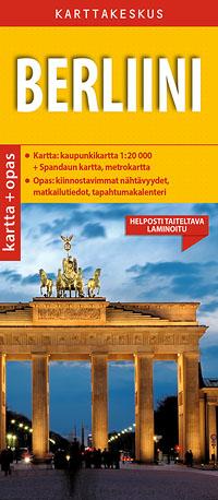 Berliini 1:20 000 kartta & opas, suomenkielinen