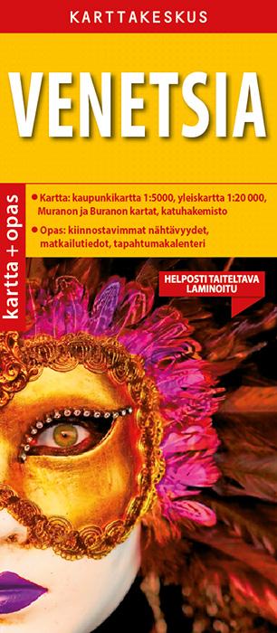 Venetsia 1:5000 kartta & opas, suomenkielinen