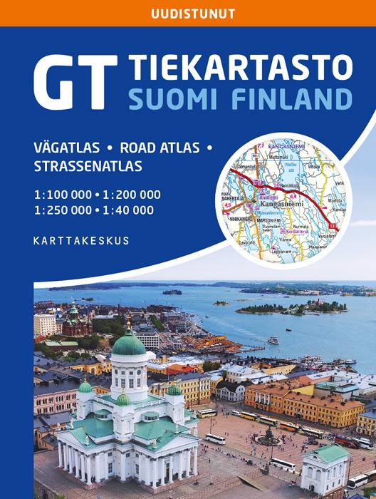 GT Tiekartasto Suomi
