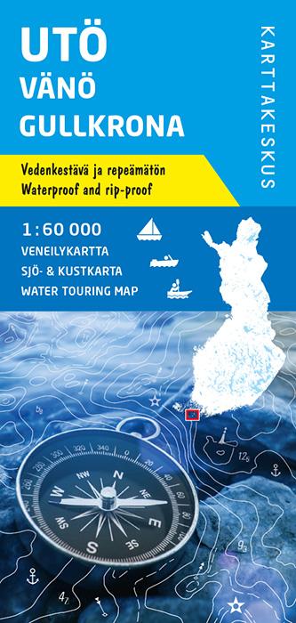 Utö Vänö Gullkrona, veneilykartta 1:60 000