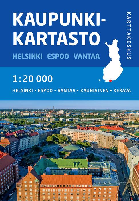 Kaupunkikartasto Helsinki, Espoo ja Vantaa