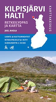 Kilpisjärvi Halti Retkeilyopas ja kartta 2014