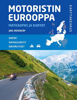 Motoristin Eurooppa Matkaopas ja kartat