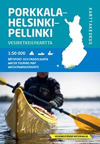 Porkkala-Helsinki-Pellinki 1:50 000, vesiretkeilykartta 2014