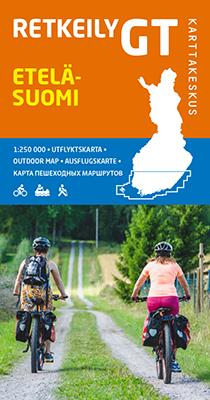 Retkeily GT Etelä-Suomi 1:250 000, 2019