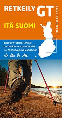 Retkeily GT Itä-Suomi 1:250 000, 2014