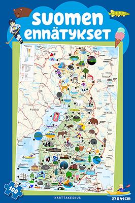 Suomen ennätykset palapeli (100 palaa)
