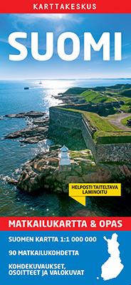 Suomi matkailukartta 1:1 milj.